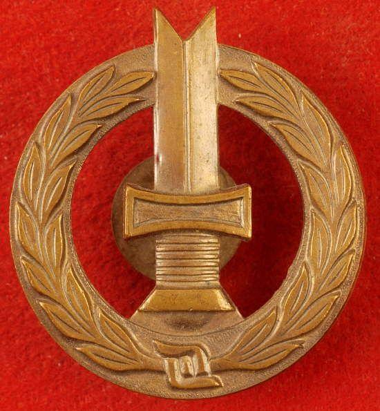WW2 FINNISH ARMY MARKSMANSHIP BADGE BADGE 1ST CLASS