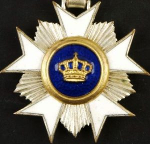 BELGIUM, ORDER OF THE CROWN, KNIGHT RANK