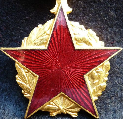 VINTAGE WW1 WW2 WAR MEDAL FRENCH WAR WOUND MEDAL TYPE 2 COMBAT AWARD