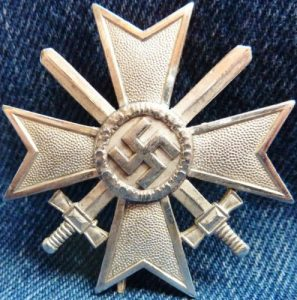WW2 GERMAN NAZI WAR MERIT CROSS 1ST CLASS