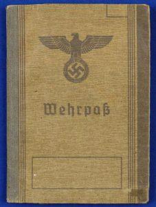 WW2 GERMAN ARMY NAZI ID DOCUMENT