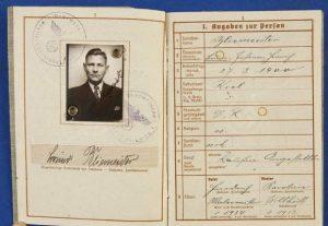 WW2 NAZI ARMY WAR PASS DOCUMENT