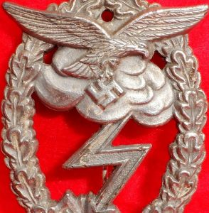 WW2 GERMAN LUFTWAFFE GROUND ASSAULT BADGE