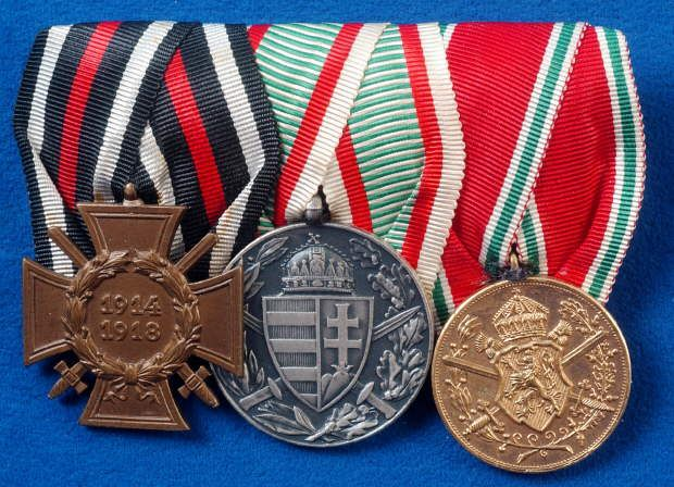 German Army Medal Bar 1914 Ww1 Jb Military Antiques