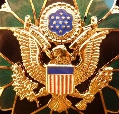 US ARMY, NAVY, AIR FORCE OFFICER GENERAL STAFF BADGE