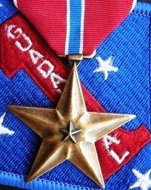 US BRAVERY AWARD ARMY NAVY AIR FORCE BRONZE STAR MEDAL FOR GALLANTRY IN COMBAT