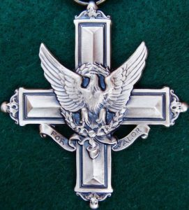 US MILITARY DISTINGUISHED SERVICE CROSS ARMY, NAVY, AIR FORCE 2ND HIGHEST AWARD