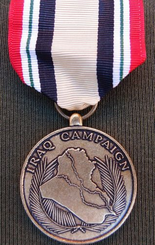CURRENT ISSUE US IRAQ SERVICE CAMPAIGN MEDAL