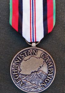 CURRENT ISSUE US AFGHANISTAN SERVICE CAMPAIGN MEDAL