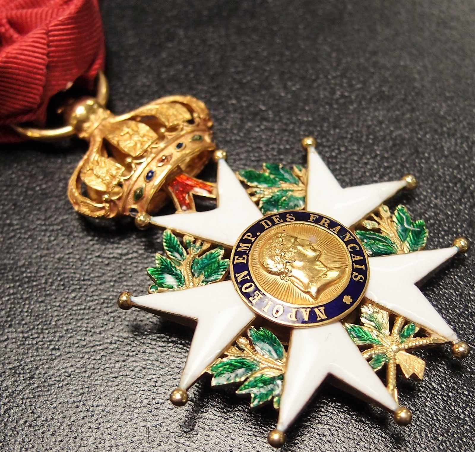 sold   french 2nd empire legion of honour officer medal