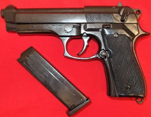 M92 BERRETTA 9MM MILITARY MODEL REPLICA PISTOL BY DENIX