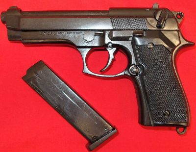 M92 BERRETTA 9MM MILITARY MODEL REPLICA PISTOL BY DENIX