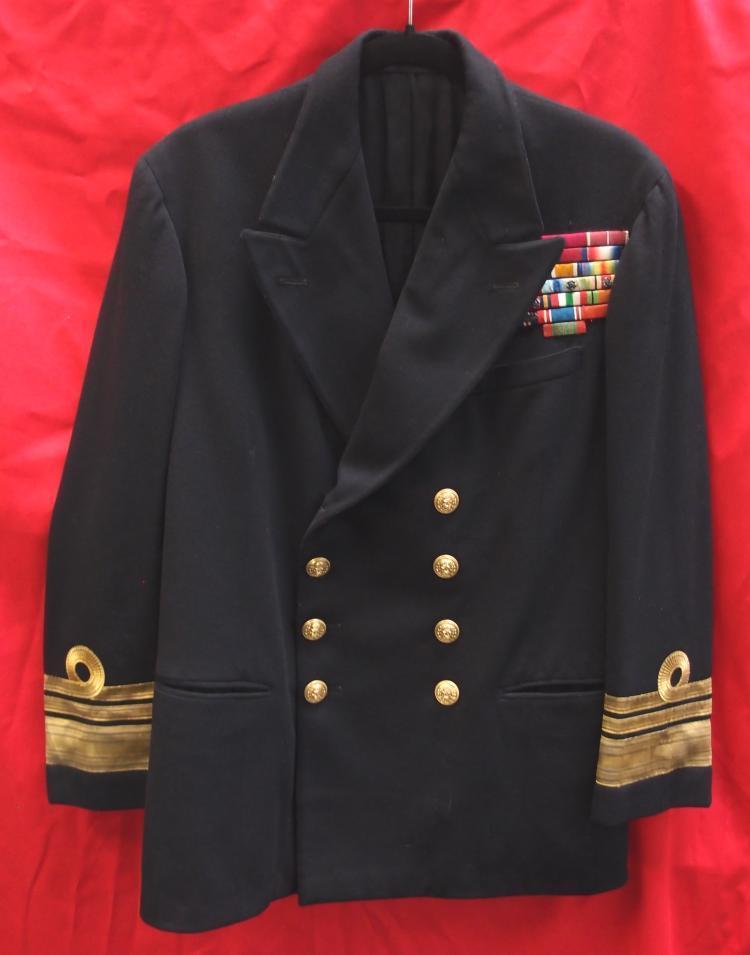 Sold Ww2 British Royal Navy Uniform Vice Admiral
