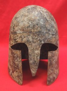 19th-century-reproduction-of-a-classical-greek-hoplites-helmet