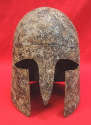 19th-century-reproduction-of-a-classical-greek-hoplites-helmet
