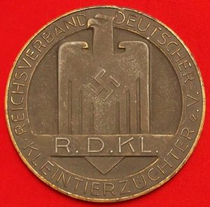 WW2 German Faithful Service Medal for breeders of small animals