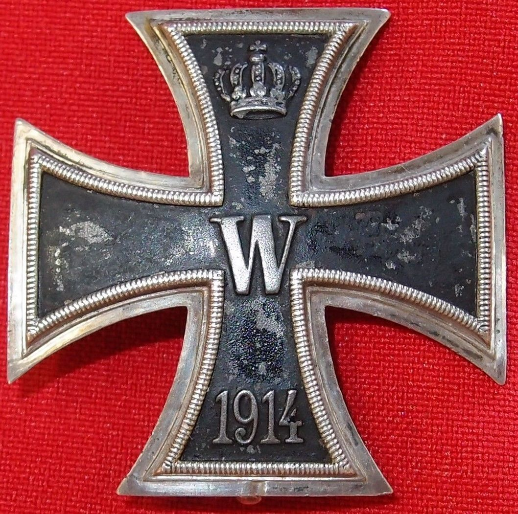 I Is For Iron ~ Sold ww convex german iron cross st class for