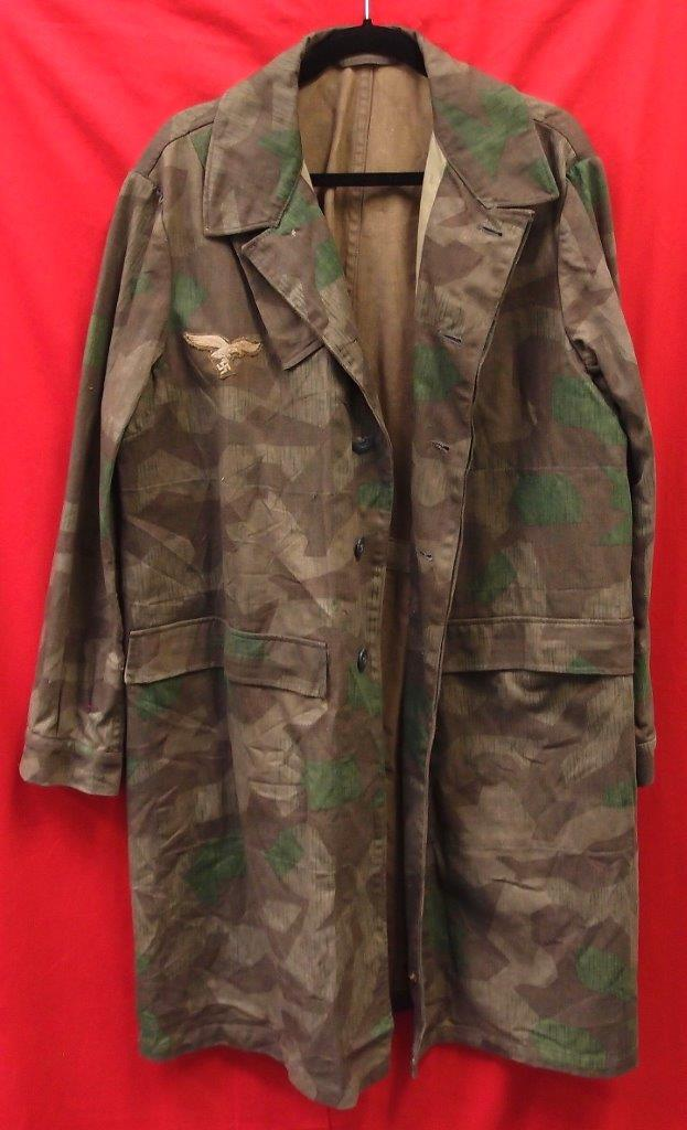 WW2 GERMAN LUFTWAFFE PARATROOPERS SMOCK – JB Military Antiques
