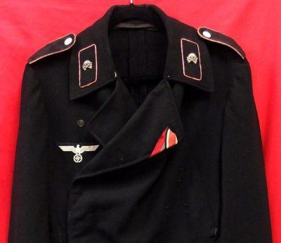 Sold Ww2 German Army Panzer Jacket Wrap Tunic Jb