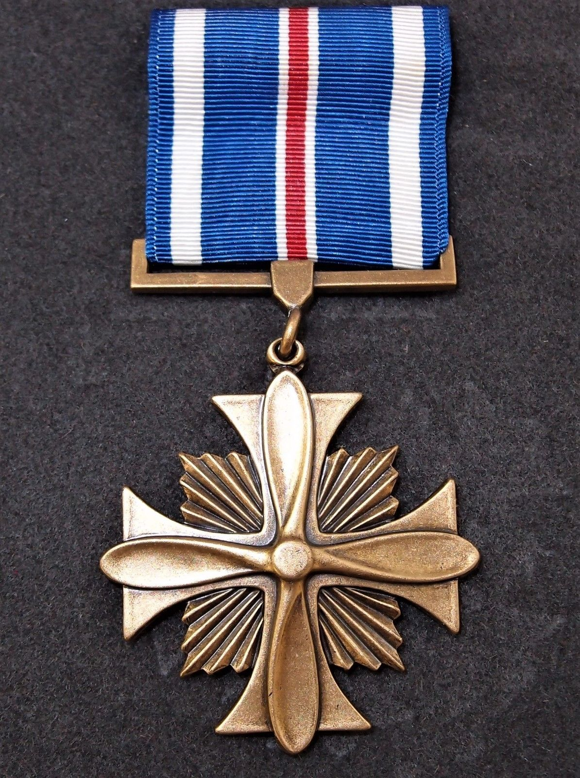 Cased Us Distinguished Flying Cross Medal Iraq Combat