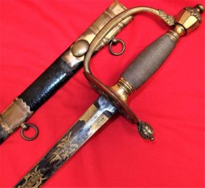 1796 Pattern Light Infantry Officer's Sword