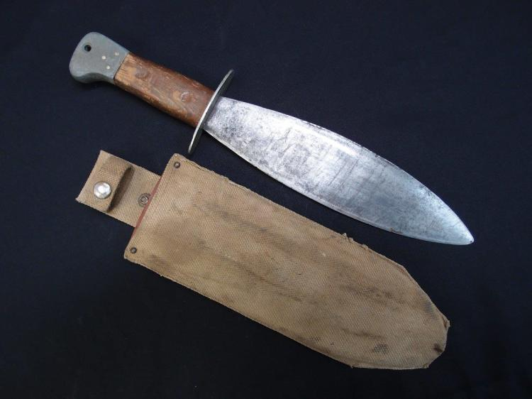 Sold Ww2 Australian Smatchet Combat Survival Knife