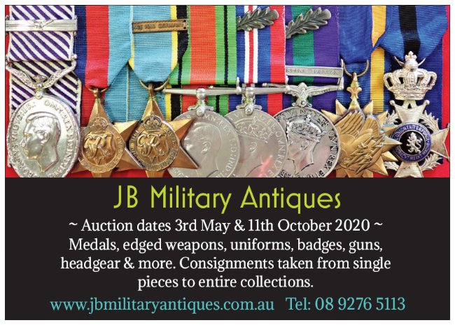 JB Military Antiques Auctions