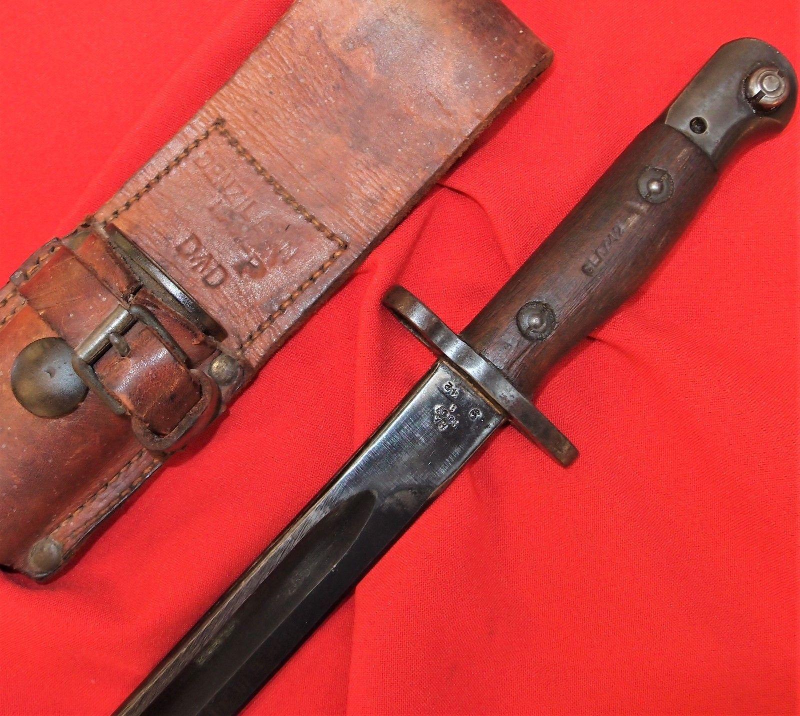 Sold Ww2 Australian 303 Ma Rifle Bayonet Lithgow