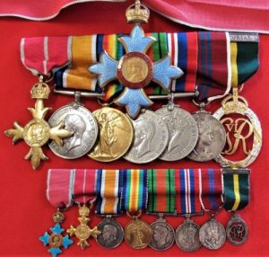 CBE WW2 OBE MEDAL GROUP COLONEL SOMERVILLE ROYAL SIGNALS NORTHERN IRELAND AWARD