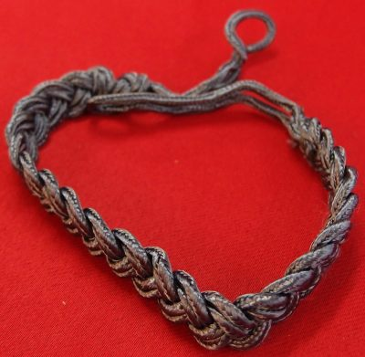 WW2 GERMAN NCOS' WHISTLE LANYARD