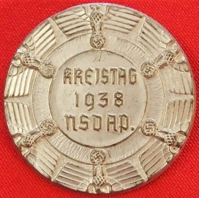 NSDAP KREISTAG 1938 COMMEMORATIVE TINNIE