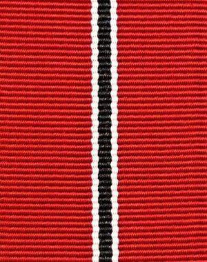 WW2 NAZI GERMANY EASTERN FRONT MEDAL RIBBON FOR MOUNTING OR REPLACEMENT