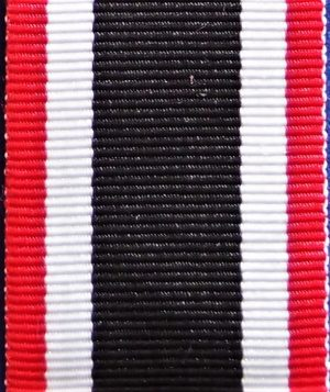 WW2 NAZI GERMANY WAR MERIT CROSS 2ND CLASS MEDAL RIBBON FOR MOUNTING OR REPLACEMENT