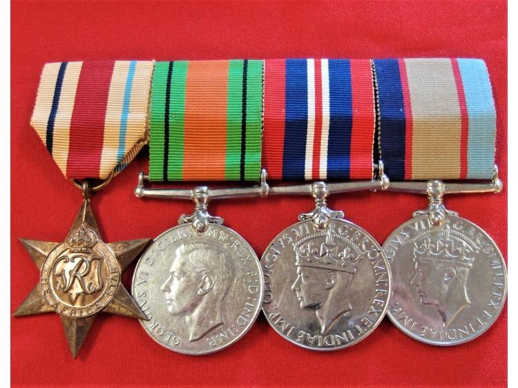 WW2 AUSTRALIAN ARMY CHAPLIN SERVICE MEDALS WX3371
