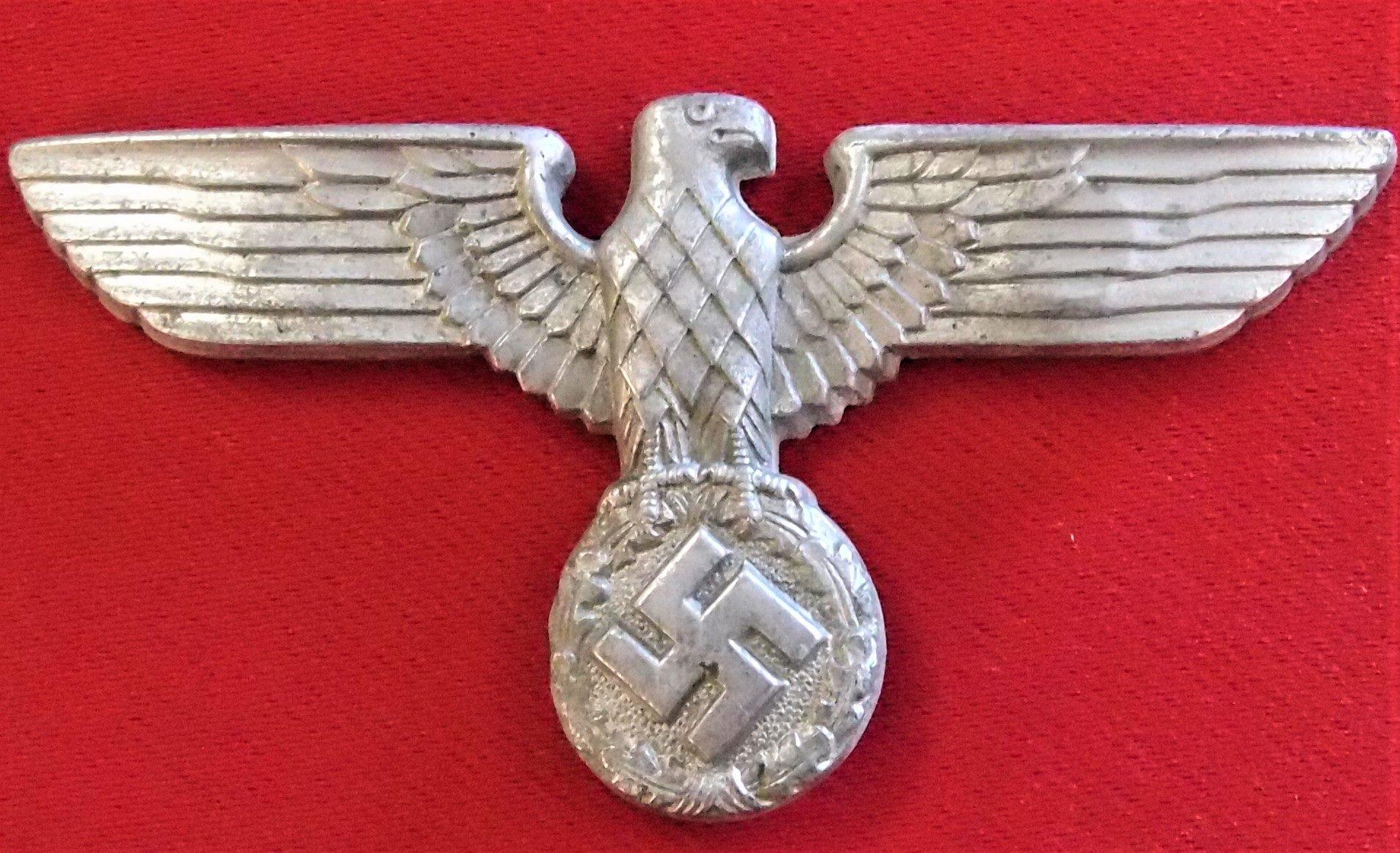 **SOLD** WW2 GERMAN NAZI PARTY (N S D A P ) UNIFORM CAP EAGLE