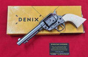 DENIX REPLICA GUN 1873 US QUICK DRAW COLT PEACE MAKER REVOLVER PISTOL