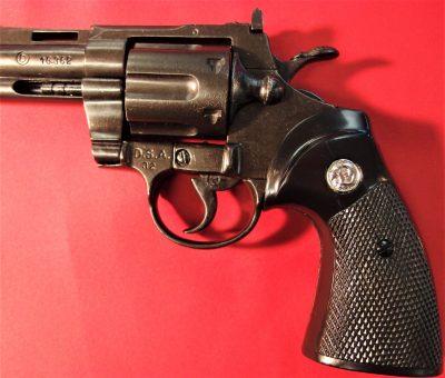 DENIX REPLICA GUN COLT PYTHON 357 MAGNUM REVOLVER PISTOL