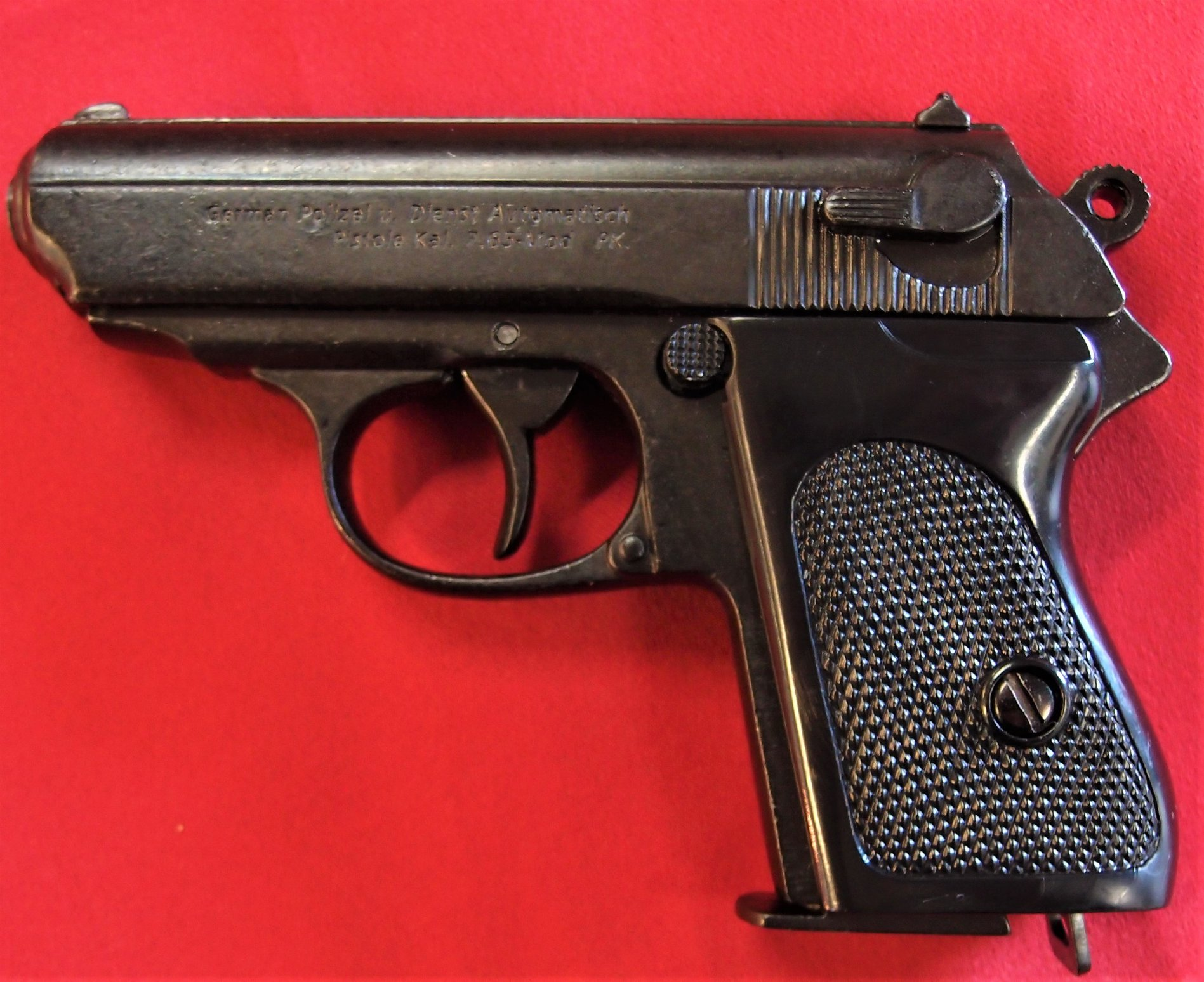 DENIX REPLICA GUN WALTHER PPK JAMES BOND STYLE PISTOL - JB ...