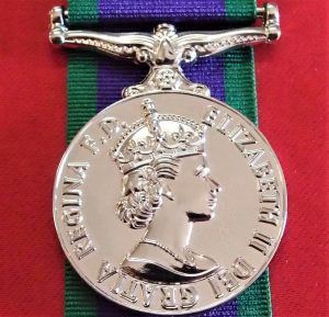 GENERAL SERVICE MEDAL 1962 ARMY NAVY AIR FORCE REPLICA AUSTRALIAN SERVICE ANZAC