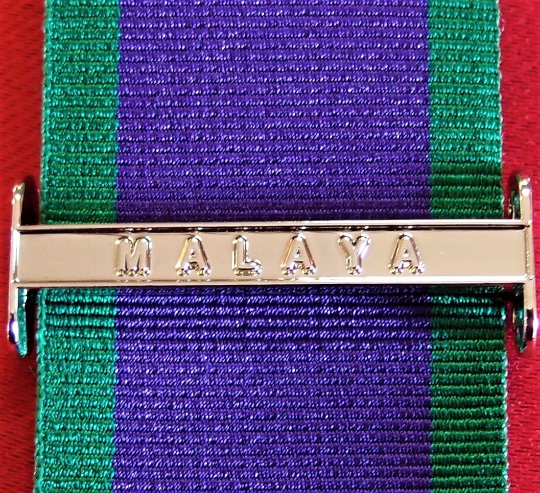 MALAYA CLASP GENERAL SERVICE MEDAL ARMY NAVY AIR FORCE REPLICA AUSTRALIA BRITISH