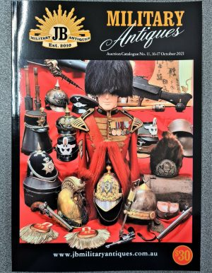 JB Military Antiques WW1 WW2 MILITARY AUCTION CATALOGUE 16th & 17th October 2021 BADGES MEDALS SWORDS UNIFORMS 10