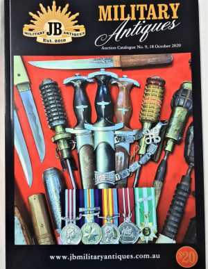 WW1 WW2 MILITARY AUCTION CATALOGUE 18TH OCTOBER 2020 BADGES MEDALS SWORDS UNIFORMS