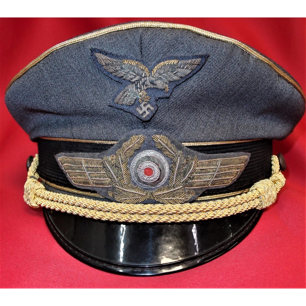 BATTLE OF BRITAIN' MOVIE GERMAN LUFTWAFFE GENERAL OFFICER'S PEAKED CAP