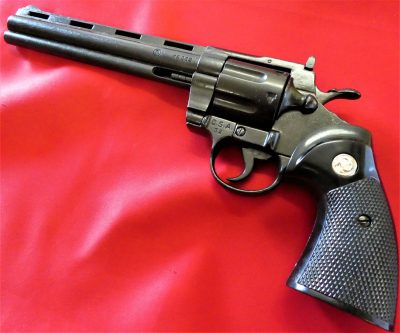 DENIX REPLICA GUN COLT PYTHON 357 MAGNUM REVOLVER PISTOL 8 INCH MODEL
