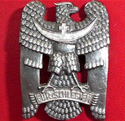 IMMEDIATE POST WW1 GERMAN SILESIAN EAGLE ORDER 1ST CLASS MEDAL BADGE
