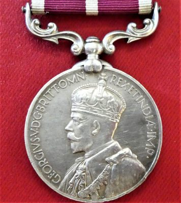 MERITORIOUS SERVICE MEDAL POST WW1 INDIA ARMY 12th FRONTIER FORCE RIFLES 1935-36