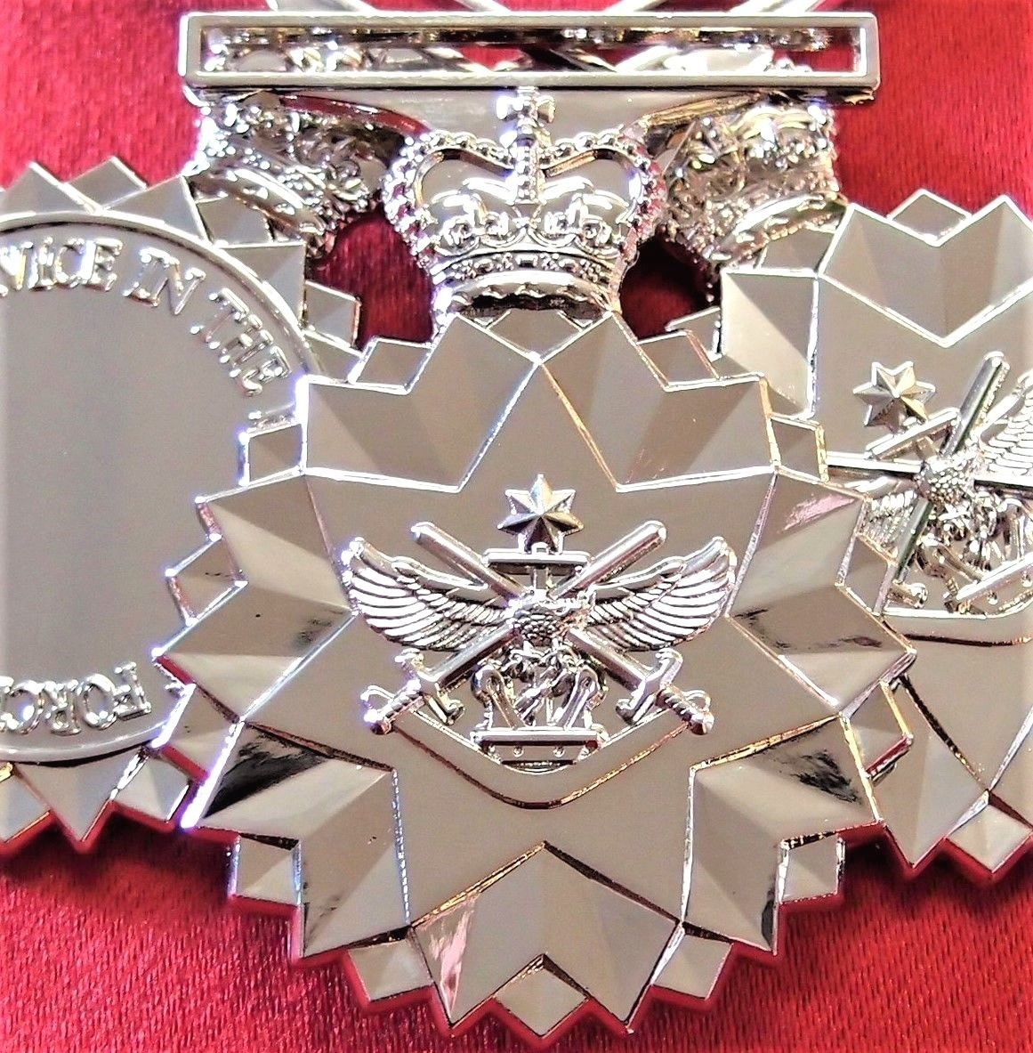 *10* AUSTRALIAN DEFENCE FORCE SERVICE MEDAL ARMY NAVY AIR FORCE REPLICA ANZAC DFSM
