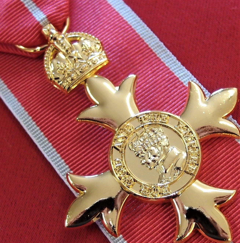 OBE MILITARY WW2 AUSTRALIAN ORDER OF THE BRITISH EMPIRE MEDAL REPLICA ANZAC WW2