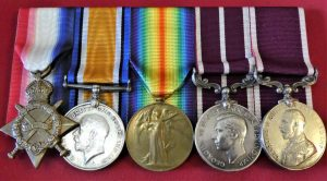 WW1 BRITISH ARMY & TOWER OF LONDON YEOMAN WARDER MERITORIOUS SERVICE MEDAL GROUP SAMUEL DONEY