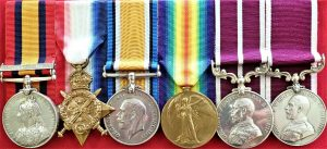BOER WAR & WW1 BRITISH ARMY MSM FOR INDIA MEDAL GROUP TO 17709 BQMS DELANEY